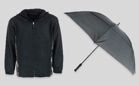 Umbrellas, Ponchos & Rain Gear for Men