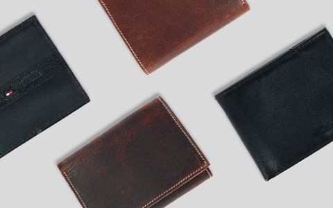Men's Zip Around Wallets
