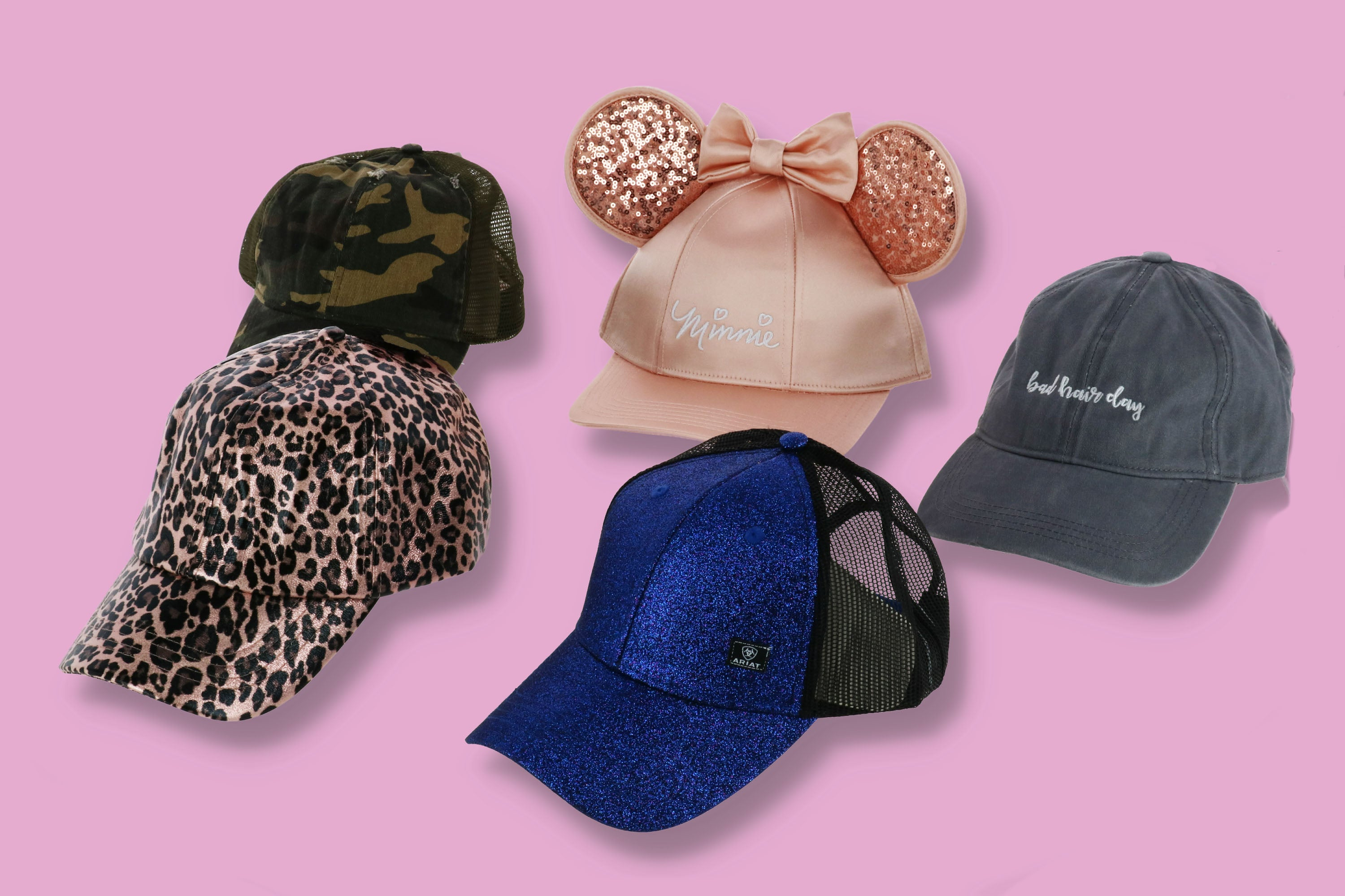 Cute and fun Baseball caps for women at BeltOutlet.com