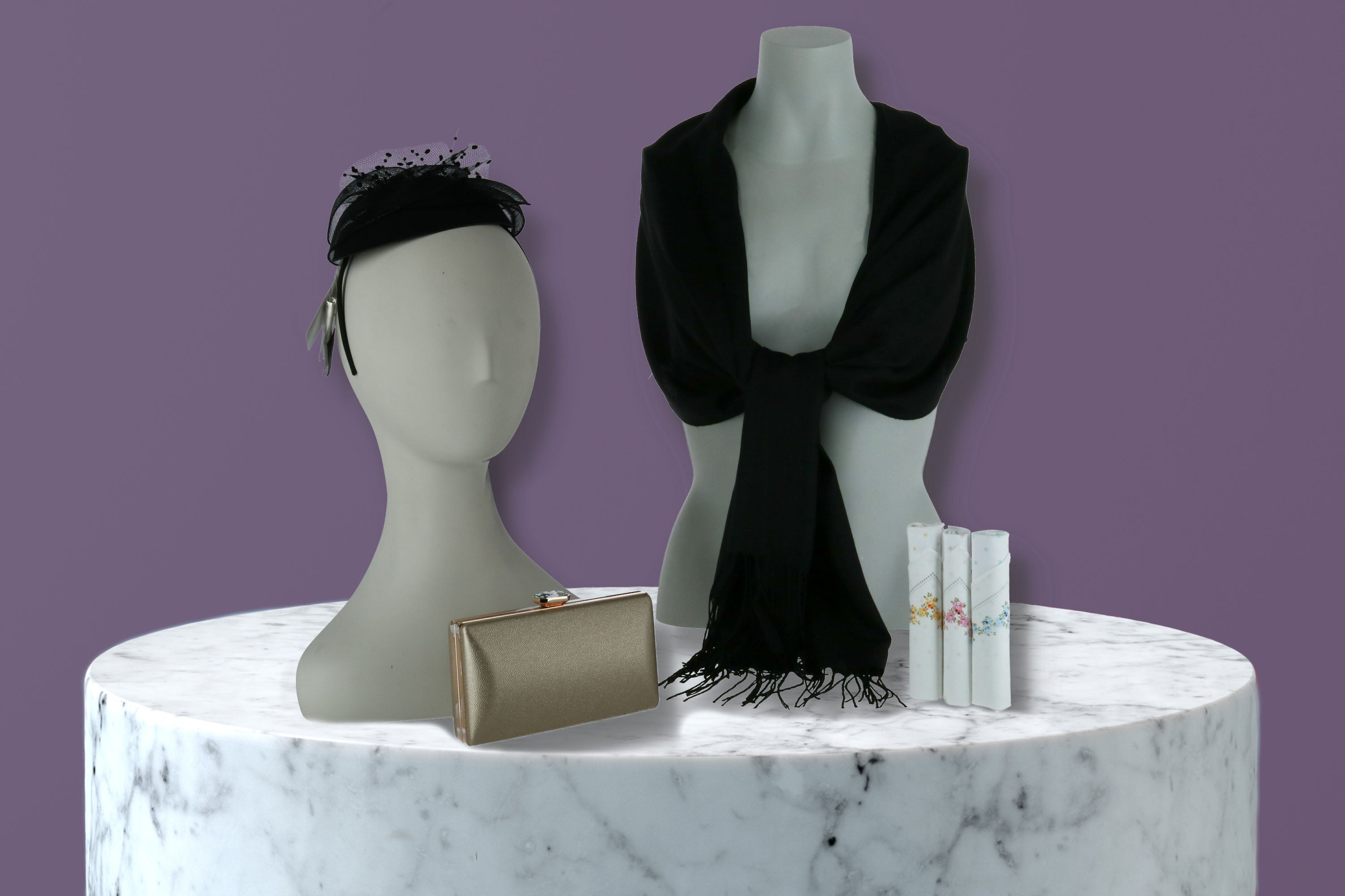 Fascinators and formal accessories from BeltOutlet.com