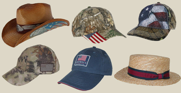 Independence Day Patriotic Accessories Hats - BeltOutlet.com