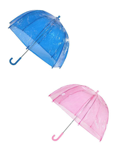 Totes Kids' Clear Bubble Umbrella (Pack of 2)