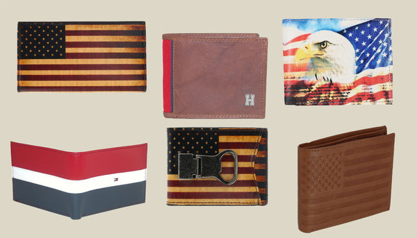 Fourth of July Independence Day Wallets