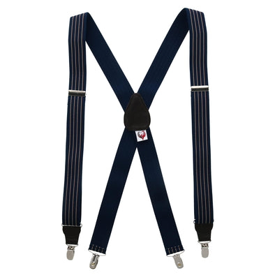 Men's Summit Stripe Clip-End Suspenders