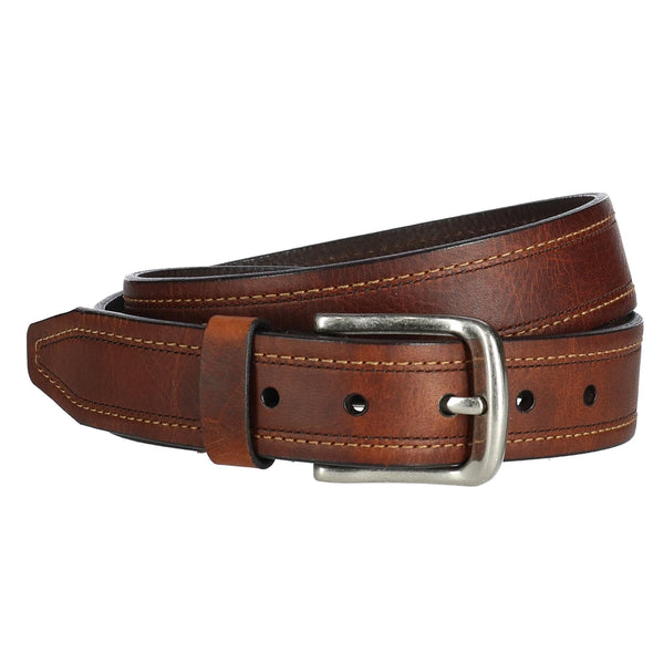 Men's Bison Leather Jean Belt