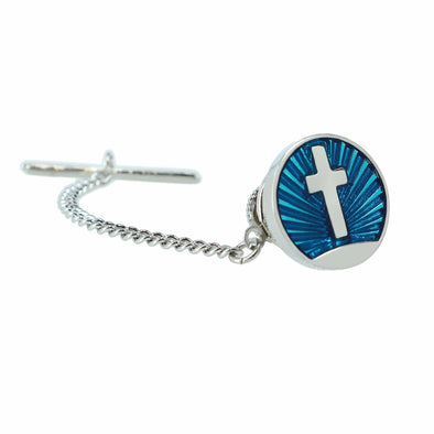 Men's Rising Cross Tie Tack