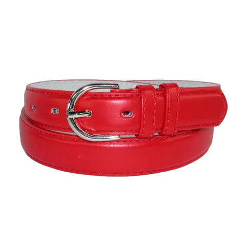 Women's Leather 1 1/8 Inch Dress Belt