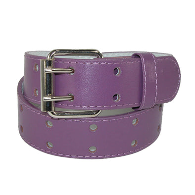 Kids' Leather Two Hole Jean Belt (Pack of 2)