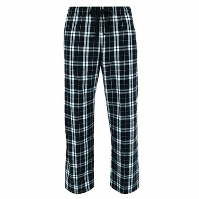 Flannel Pants with Side Pockets