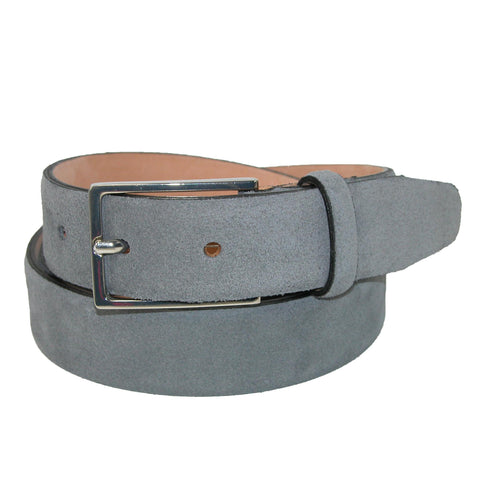 Men's Stratton Italian Suede Feather Edge 30mm Belt