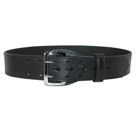 Boston Leather Men's Leather Fully Lined Sam Browne 2 1/4 Inch Belt