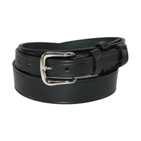 Boston Leather Men's Leather 1 1/2 inch Heavy Duty Ranger Belt