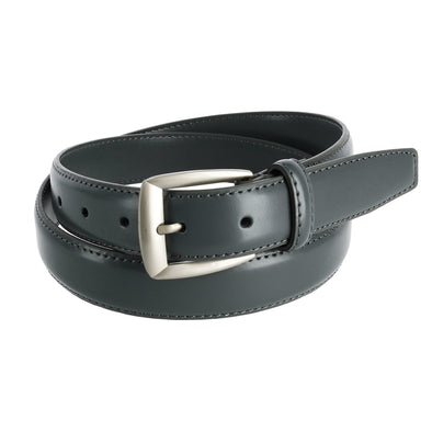 Men's Basic Leather Dress Belt