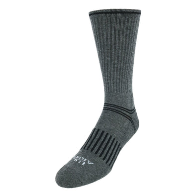 Men's All Season Cotton Blend Crew Socks (3 Pair Pack)