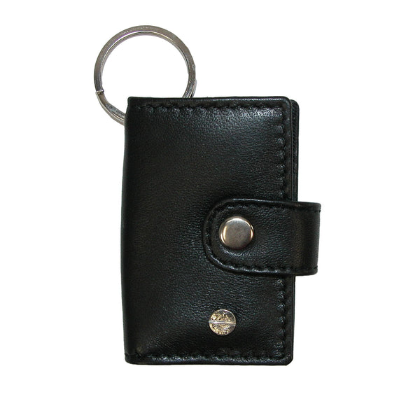 Leather Scan Card Key Chain Wallet