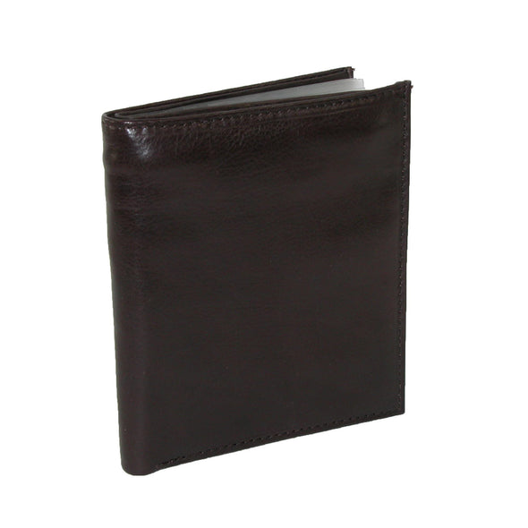 Men's Leather Deluxe Hipster Bifold Wallet