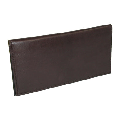 Leather Checkbook Cover Wallet