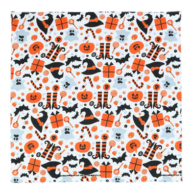 Witches and Hats Halloween Print Bandana