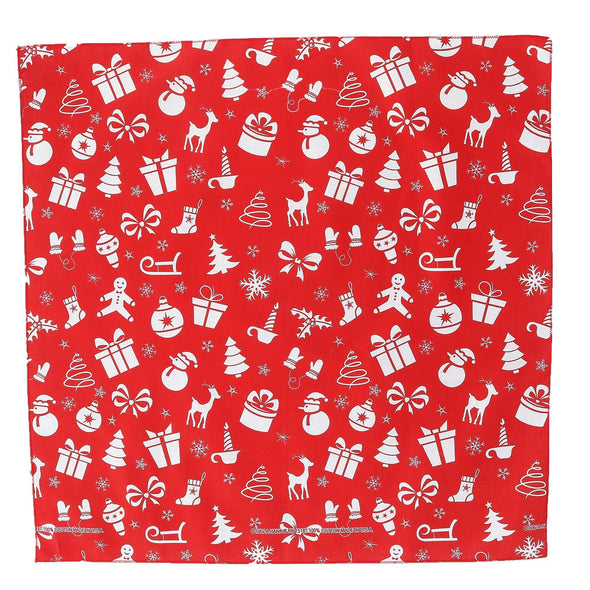 Variety Christmas Pattern Holiday Print Bandana