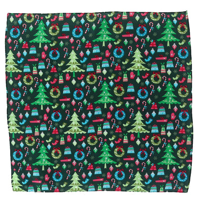 Trendy Christmas Pattern Holiday Print Bandana