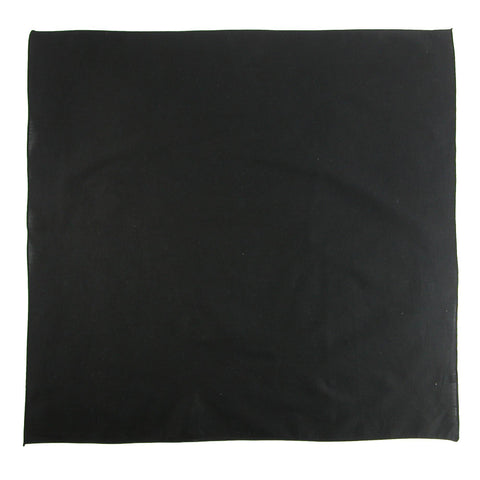 27 Inch Extra Large Cotton Solid Color Bandana