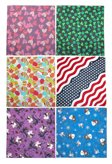 Holiday Print Variety Pack (Pack of 6)