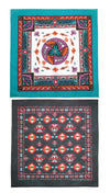 Women's Aztec and Apache Southwestern Print Bandana Kit (Pack of 2)