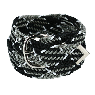 Men's Big & Tall Nylon Cord Woven Belt
