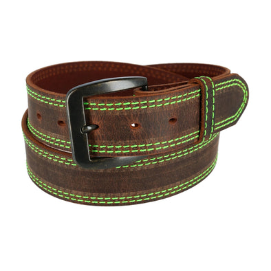 Men's Contrast Stitch Belt