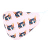 Kid's Cat Print Adjustable Face Mask