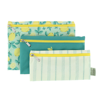 Farmhouse Fresh Zips Reusable Storage Bags (Pack of 3)