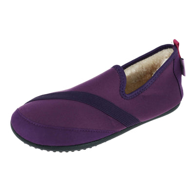 Women's Solid Kozi Kicks Insulated Slippers