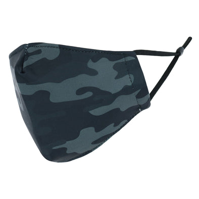 Adult Adjustable Camouflage Print Face Mask