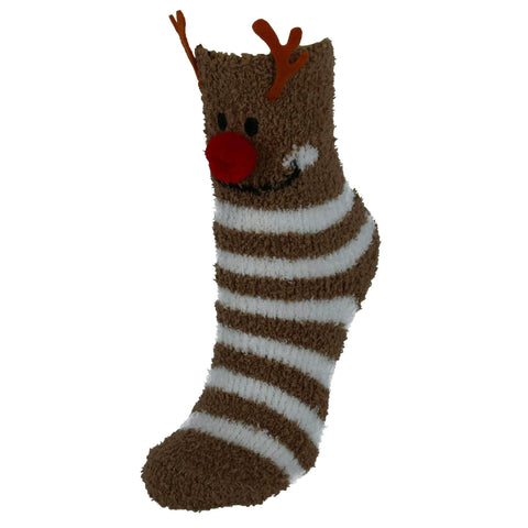 Women's Christmas Fuzzy Socks