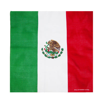 Cotton Mexican Flag Bandana