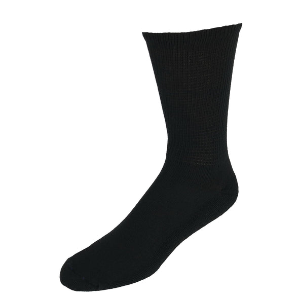 Men's Diabetic Circulatory Crew Socks (4 Pair Pack)