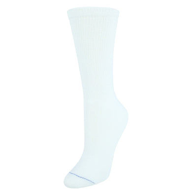 Women's Plus Size Diabetes & Circulatory Crew Socks (4 Pair Pack)