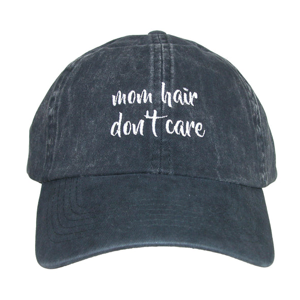 Women's Cotton Mom Hair Don't Care Baseball Cap