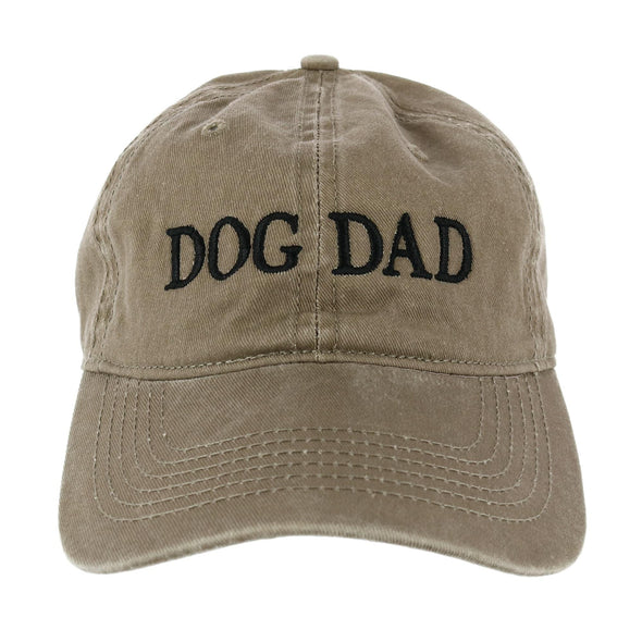 Men's Washed Cotton Dog Dad Baseball Cap