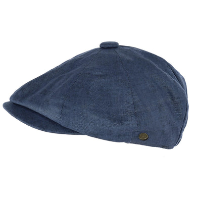 Men's Linen Newsboy Cap