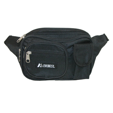 Fabric Multiple Pockets Fanny Waist Pack