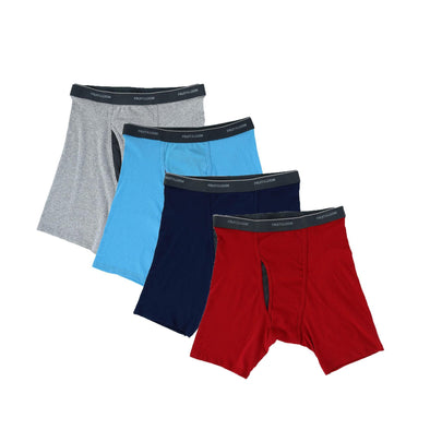Men's Big and Tall Coolzone Boxer Brief Underwear (4 Pack)