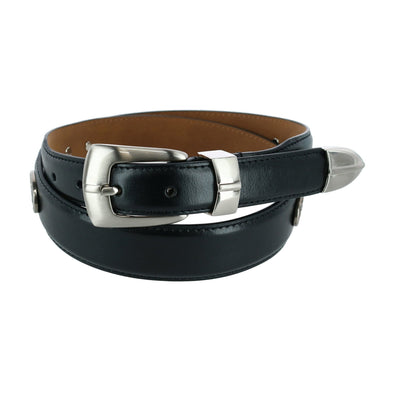 Men's 3 Piece Golf Belt with Golf Conchos