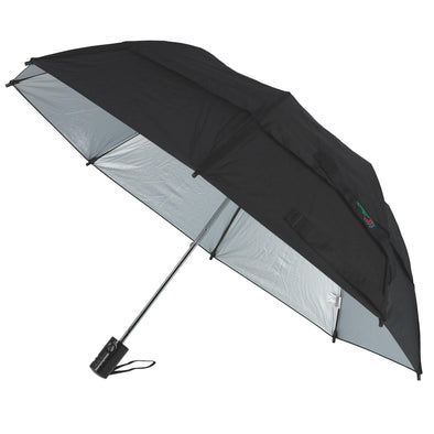 Metro SunBLOK Auto Open UV Protected Vented Compact Umbrella