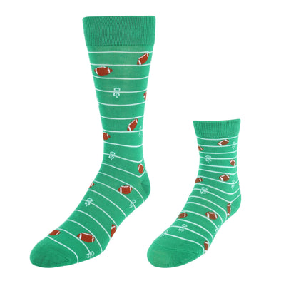 Men's Daddy and Me Novelty Socks (2 Pair Pack)