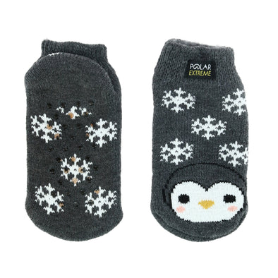 Kid's Critter Thermal Footie Slipper Socks
