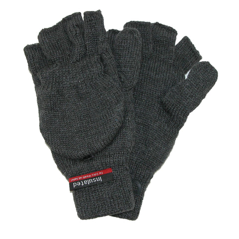 Men's Knit Flip Top Thinsulate Lined Gloves