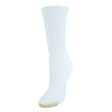 Women's Extended Size AquaFX Crew Socks (3 Pair Pack)