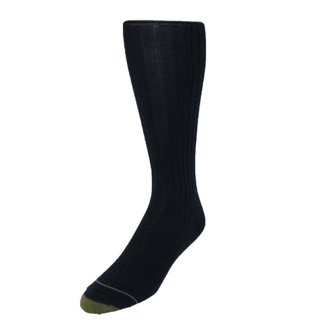 Men's Mercerized Cotton Over the Calf Dress Socks (Pack of 3)