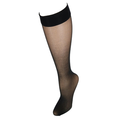 Silk Reflections Run Resistant Sheer Knee Highs (2 Pair Pack)